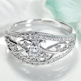 ◆Pt950【0.38ct】ダイヤモンド リング人気 上品 ダイヤリング ダイア ダイヤモンドリング プラチナ 指輪 透かし 大ぶり 4月誕生石 送料無料 代引手数料無料 品質保証書 ギフト プレゼント diamond platinum ring