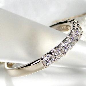 K18シャンパンゴールドダイヤモンドエタニティリング