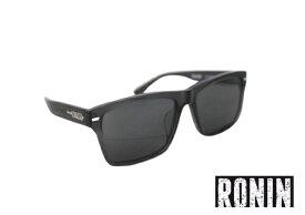 RONIN ロニン サングラス THE GIFT ギフト メガネ 眼鏡 高度数偏光レンズ Polarized メンズ レディース ユニセックス スペースグレー