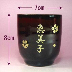 茶碗の大きさ飲み口7cm、高さ8cmです
