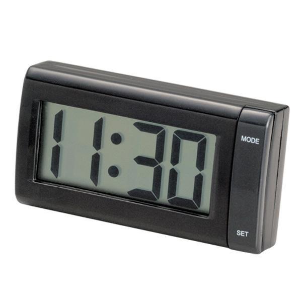 メール便可 デジタル時計ジャンボクロック 配線不要・電池タイプ 大きい文字 セイワ W851