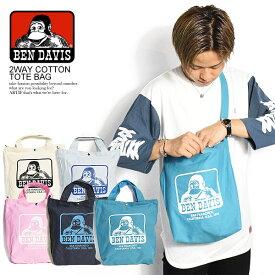 BEN DAVIS ベンデイビス COTTON 2WAY TOTE BAG メンズ バッグ 鞄 カバン ショルダーバッグ トートバッグ おしゃれ かっこいい カジュアル ファッション ストリート bendavis ベンデービス