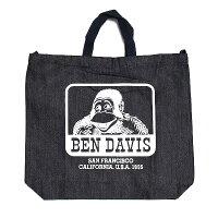 BENDAVISベンデイビス2WAYCASUALDENIMTOTEBAG-LOGO-メンズバッグ鞄カバントートバッグショルダーバッグおしゃれかっこいいストリートbendavisベンデービス