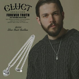 CLUCT クラクト SILVER HEART NECKLACE メンズ ネックレス シルバー ハート ストリート 送料無料