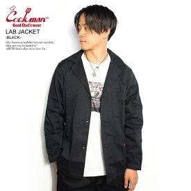 COOKMAN クックマン LAB.JACKET -BLACK- メンズ ジャケット ラボジャケット ストリート おしゃれ かっこいい カジュアル ファッション cookman
