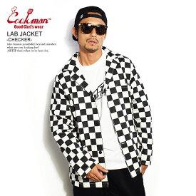 COOKMAN クックマン LAB.JACKET -CHECKER- メンズ ジャケット ラボジャケット ストリート おしゃれ かっこいい カジュアル ファッション cookman