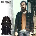 30%OFF SALE セール CRIMIE クライミー LEX WOOL CHECK ZIP JACKET メンズ ジャケット 送料無料 ストリート