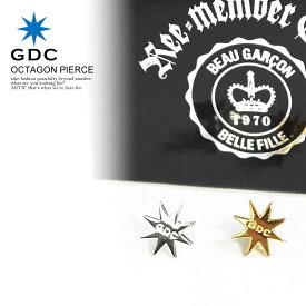 GDC ジーディーシー OCTAGON PIERCE gdc メンズ ピアス アクセサリー オクタゴン おしゃれ かっこいい カジュアル ファッション ストリート