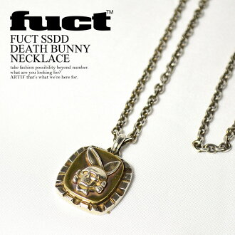 FUCT (fact) FUCT SSDD DEATH BUNNY NECKLACE
