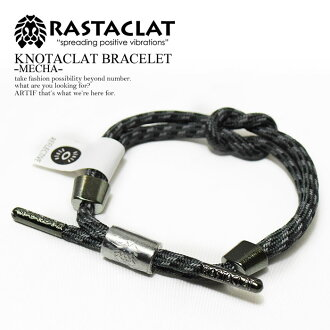 The street where RASTACLAT ラスタクラット KNOTACRAT BRACELET-MECHA-men's lady's accessories bracelet Shoo race California reflector reflector West Coast fashion is cool