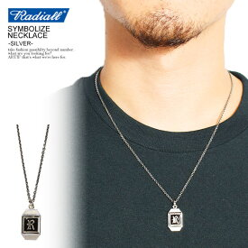 RADIALL ラディアル SYMBOLIZE - NECKLACE -SILVER- radiall メンズ ネックレス シルバー 送料無料 ストリート