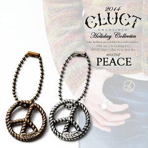 CLUCT(クラクト) PEACE 【CLUCT メンズ キーリング ピース】 ストリート 05P05Dec15