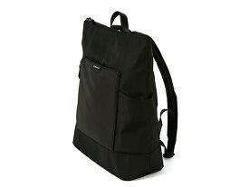 <新商品>リュックサック XWB-CA186 アルティザン&アーティストARTISAN&ARTIST* シンプル 多機能収納 軽量デイパック ポケットが充実 ブラック バックパック
