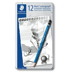 [ メール便可 ] ルモグラフ高級鉛筆 12本セット 【 デッサン スケッチ 絵画 鉛筆 】