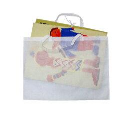 [ メール便可 ] さくひんバッグ F型 【 バッグ えのぐ 収納 不織布 画材 かばん 】