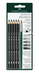 [ メール便可 ] ファーバーカステル製 水性グラファイト 鉛筆セット 【 デッサン スケッチ 絵画 鉛筆 水性 グラファイト 】