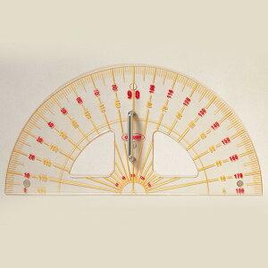 大分度器 アクリル製 600mm 【 製図 定規 分度器 】
