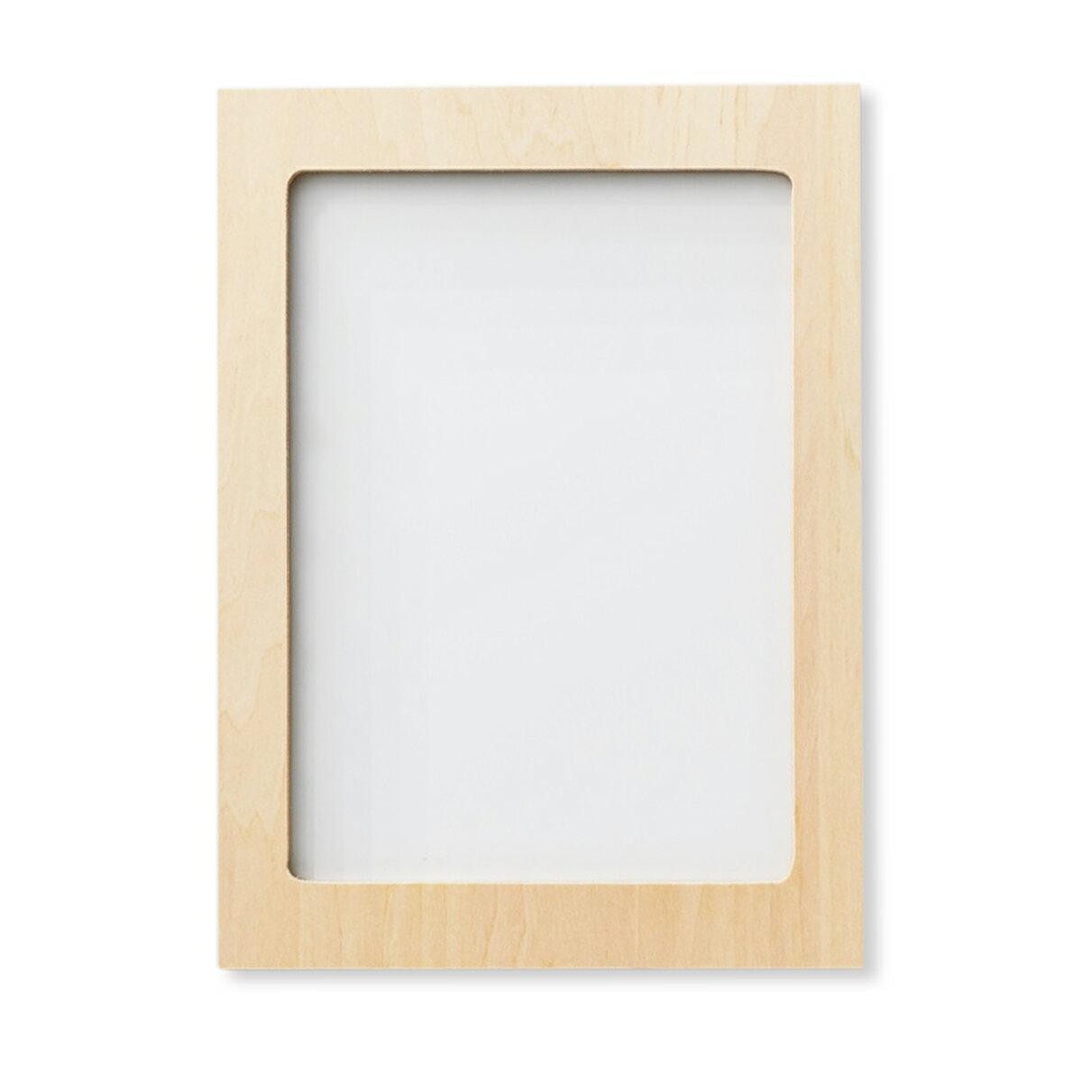 絹張り合板枠 100メッシュ はがき判 4mm厚 【 版画 シルクスクリーン カッティング法 】