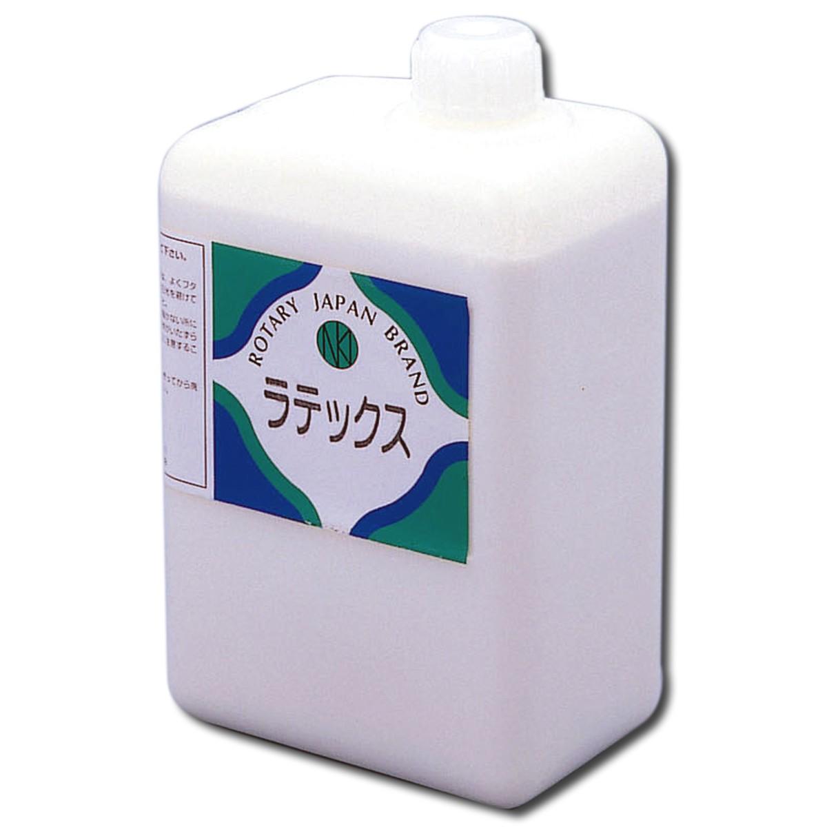 食酢で固まるゴム液 ラテックス 1L 【 ラテックス 造形 ゴム液 】