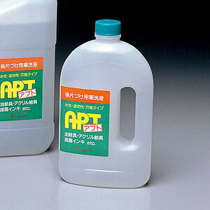 水性後片付け用洗浄液 アプト 500mL 【 木工 塗装 ブース 保護 エアブラシ 】