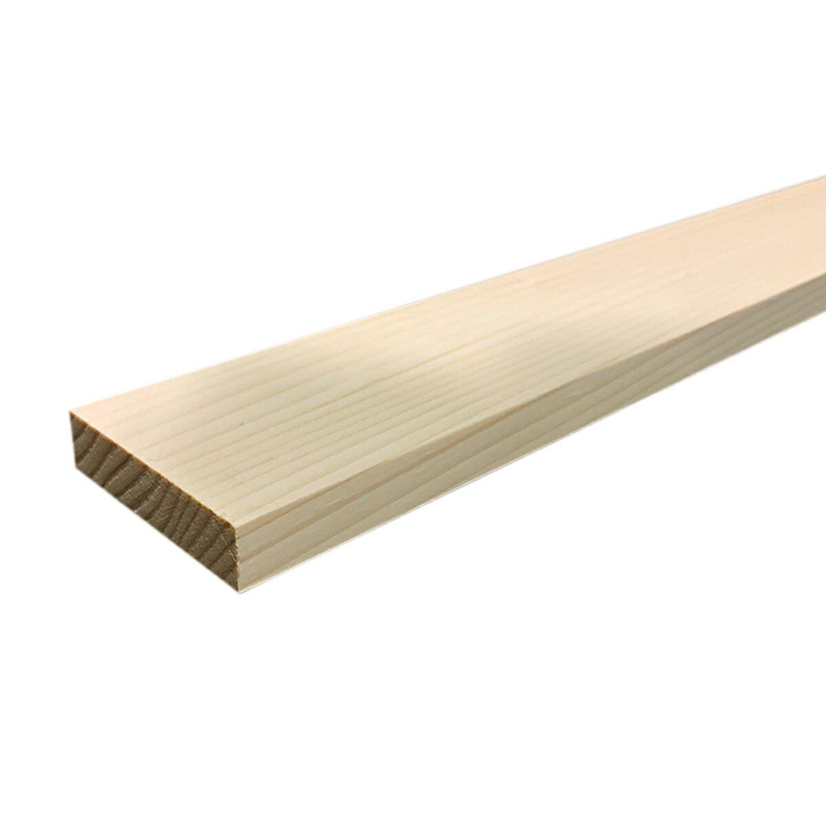 えぞ松板 四面プレーナー仕上げ 14x60x910mm 【 木材 DIY 手作り 木工 板 パイン材 】
