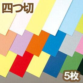 ニューカラーR 四つ切 5枚組 【 紙 色紙 造形 製作 】