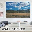 ウォールステッカー アートパネル アート 壁紙シール 壁シール インテリア ステッカー 写真 装飾 壁紙 北欧 自然 おすすめ おしゃれ 人…