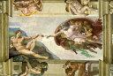 アートパネル アートボード ミケランジェロ アダムの創造 60x45 A2 壁掛け 絵 インテリア 名画 モダンアート 油絵 絵画 有名画 おすす…