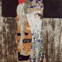 アートパネル アートボード クリムト 女の三世代 53×53 壁掛け 絵 インテリア 名画 モダンアート 油絵 絵画 有名画 おすすめ 人気 高…