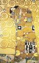 アートパネル アートボード クリムト 抱擁 118×56 壁掛け 絵 インテリア 名画 モダンアート 油絵 絵画 有名画 おすすめ 人気 高級 か…
