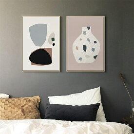 アートプリントポスター マルチカラー フレーム付き 40×30cm 【art of black】