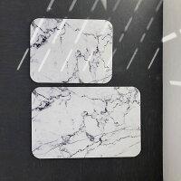大きいサイズ珪藻土大理石柄バスマット39×60cmマーブル柄モノトーンインテリア北欧ホワイト【artofblack】