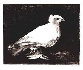 小鳩 (シルクスクリーン) (635×762mm)