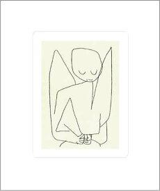 【シルクスクリーン】忘れっぽい天使(500×600mm) -クレー-