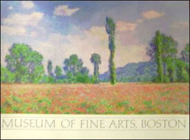 【アートポスター】ジヴェルニー近郊のひなげし畑(622×849mm) -モネ-