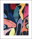【アートポスター】Diamond Dust Shoes, 1980 (lilac, blue, green)(281×358mm) -ウォーホル- ランキングお取り寄せ