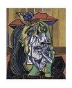 【ピカソ アートポスター】泣く女1937年(281×358mm)