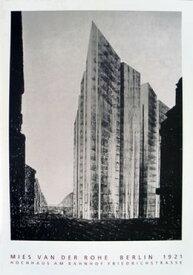 【ミース・ファン・デル・ローエ】ベルリン1921年(70cm×100cm)
