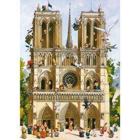 HEYE Puzzle・ヘイパズル 29905 Loup : Vive Notre Dame! 1000ピース