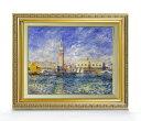 ルノワール Venice, the Doge's Palace ヴェネツィアのパラッツォ・ドゥカーレ F6 【油絵 直筆仕上げ 複製画】【額…