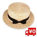 麦わら帽子 キッズ ハット カンカン帽 リボン付 ストローハット 子ども用 UVカット 日除け 熱中症対策 春 夏 送料無料