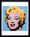 【絵画インテリア】【ポスター】アンディ・ウォーホル「マリリン・モンロー(ショットブルー)1964」展示用フック付ポス…