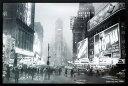 モノトーンアート「タイムズスクエア,1949」プレゼント ギフト 各種お祝い 誕生日【インテリア】【モノクロ】【絵画イ…