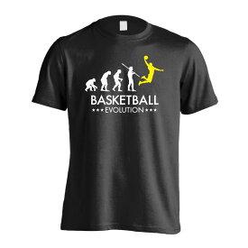 バスケットボールエボリューション バスケットボールTシャツ 半袖プレミアムドライ 全8色 130cm-XXXL ARTWORKS-KOBE (アートワークス神戸) 【送料無料】