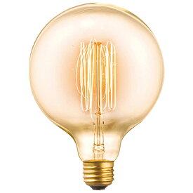 ARTWORKSTUDIO アートワークスタジオE26/60W G125カーボン電球(クリア)電球色
