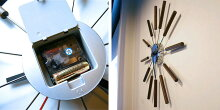 【ARTWORKSTUDIO/アートワークスタジオ】TK-2048/ウォールクロック「Atras(アトラス)」/掛け時計/壁掛け時計/時計