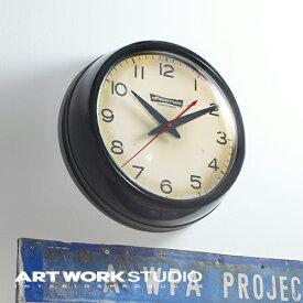 【アートワークスタジオ公式】ARTWORKSTUDIOTK-2071 Franklin-clock フランクリンクロック 壁掛け時計 スイーブムーブメント 電池式 直径35cm スチール ガラス おしゃれ アメリカン ミッドセンチュリー【ポイント10倍】