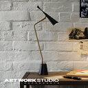 【ポイント10倍】デスクランプ 1灯 ARTWORKSTUDIO アートワークスタジオ Gossip-LED desk light ゴシップデスクライト 高効率LED電球内蔵 スイッチ付き スチール