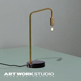 【アートワークスタジオ公式】【ポイント10倍】 ARTWORKSTUDIO アートワークスタジオ 【NEW】Barcelona-desk lamp バルセロナデスクランプ デスクライト 1灯 25W E17 真鍮 タッチスイッチ 3段階点灯切替 大理石 調光対応型LED対応 おしゃれ アンティーク