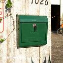 【ポイント10倍】壁掛けポスト ARTWORKSTUDIO アートワークスタジオ U.S. Mail box ユーエスメールボックス エンボス文字あり 鍵付き A4サイズ投函可 スチール製 おしゃれ レトロ アメリカン シンプル【アートワークスタジオ公式】